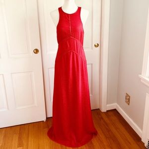 House of Harlow x Revolve Allegra Maxi Red Dress